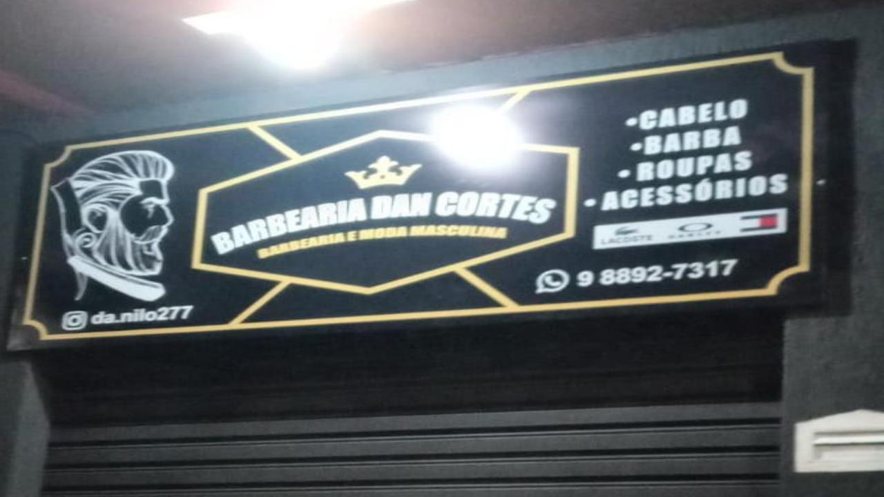 Barbearia Dan cortes